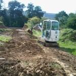 Pumptrack bauen, Bauplan