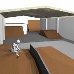 Skatepark Bau
