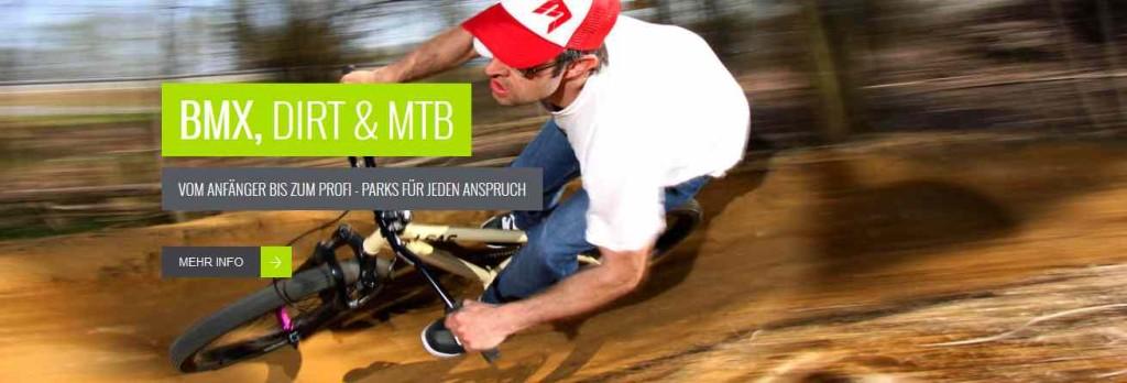 Bike Übungsparcours