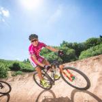 Mtb-weltmeisterin Sabine Spitz Im Turbomatik Bikepark Koulshore