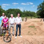 Vulkanbike Botschafterin Sabine Spitz Turbomatik Trailpark