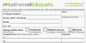 Bauanleitung Pumptrack Bikepark