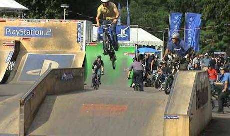 BMX Worlds 2002, Köln | Rampenbau BMX- Weltmeisterschaft