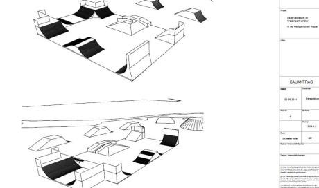 Bike- & Skatepark Lindlar | Planung / Bauantrag / Abnahme
