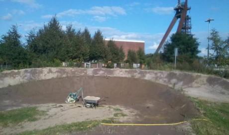 Skate- & Bikepark Recklinghausen | Umbau Dirt- & 4X- Strecke