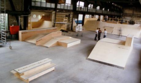 Bikepark, BMX-, Skatepark bauen / Funbox Amalie Essen