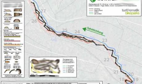 Planung Northshore | Flowtrail Burgsinn, Bikewald Spessart