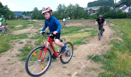 Bikepark, Pumptrack | Bau, Pflege, Eröffnungsevent, Betrieb