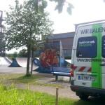 Streckenpflege Bikepark Singletrail 08