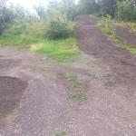 Streckenpflege Bikepark Singletrail 11