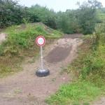 Streckenpflege Bikepark Singletrail 12