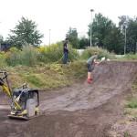 Streckenpflege Bikepark Singletrail 23