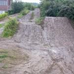 Streckenpflege Bikepark Singletrail 30