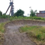 Streckenpflege Bikepark Singletrail 32
