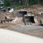 Bikepark Baustelle Bagger Turbomatik 06
