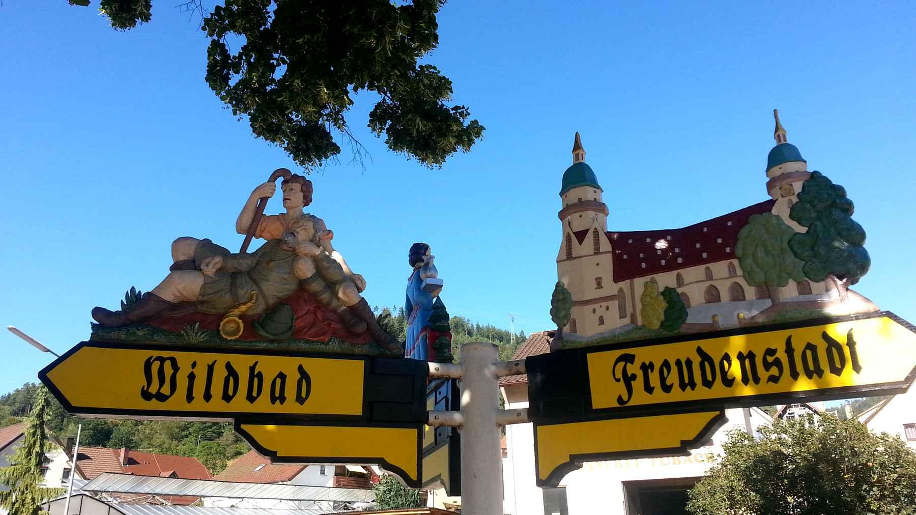 On the road: Freeriding Schwarzwald nahe Bad Wildbad, e- Fatbike Haibike Fullfat Six
