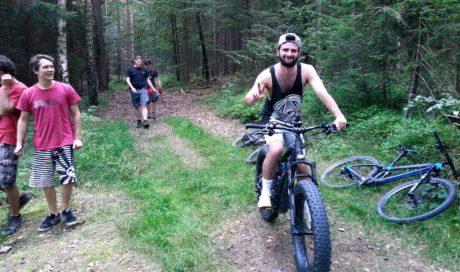 Downhill Königsfeld, Pump & Jump Trail, MTB Trailbau Planung