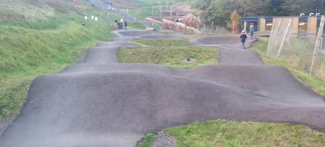 On the road: Asphalt Pumptrack, Bikepark Metabolon, Lindlar