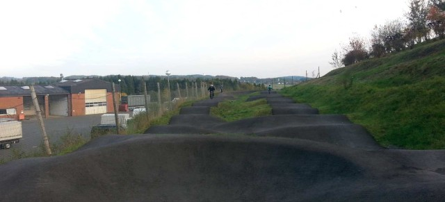 On the road: Asphalt Pumptrack, Bikepark Metabolon, Lindlar