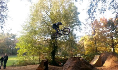 Bikepark Karlsruhe | Big Air Double Kicker & Pumptrack