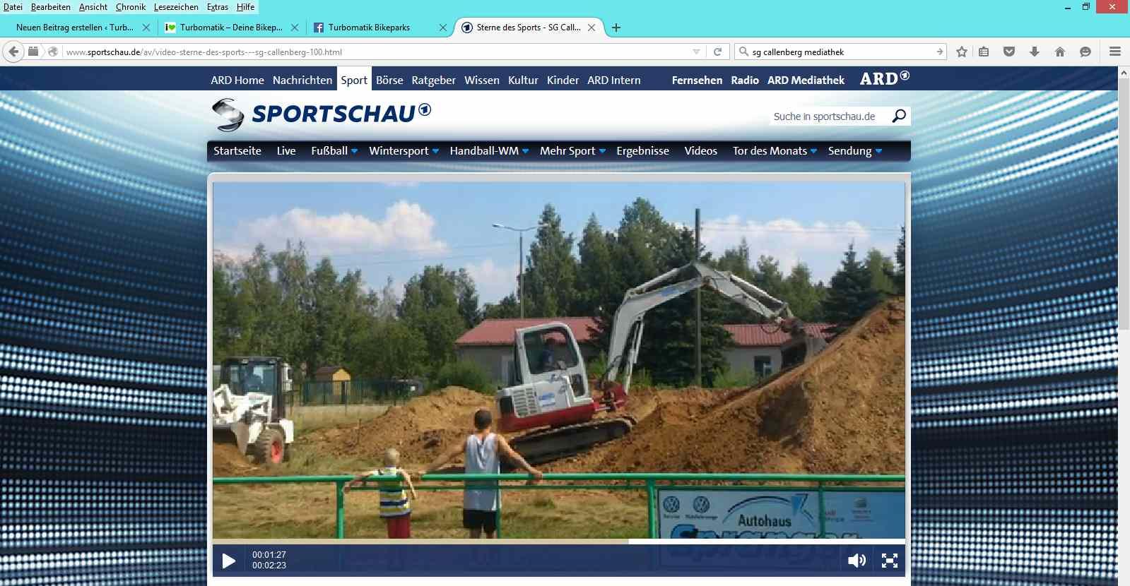 Turbomatik Callenberg Sportschau Ard