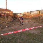 Bau Radcross Strecke Cyclingworld Düsseldorf 13