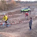 Bau Radcross Strecke Cyclingworld Düsseldorf 17