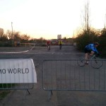Bau Radcross Strecke Cyclingworld Düsseldorf 18