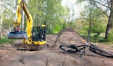 Fahrrad- Spielplatz Germersheim | Pumptrack & Dirtpark, MTB
