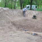 Fahrrad Spielplatz Pumptrack Dirtpark Germersheim 52
