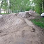 Fahrrad Spielplatz Pumptrack Dirtpark Germersheim 55