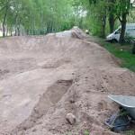 Fahrrad Spielplatz Pumptrack Dirtpark Germersheim 60