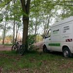 Fahrrad Spielplatz Pumptrack Dirtpark Germersheim 62