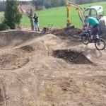 Garten Pumptrack Bauen 28