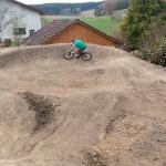 Garten Pumptrack Bauen 29