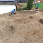 Garten Pumptrack Bauen 34