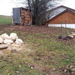Pumptrack Im Garten Vorher 1