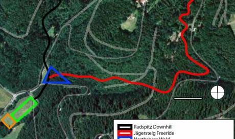 Planung | Radspitze Downhill, Bikepark Kronach, Freeride