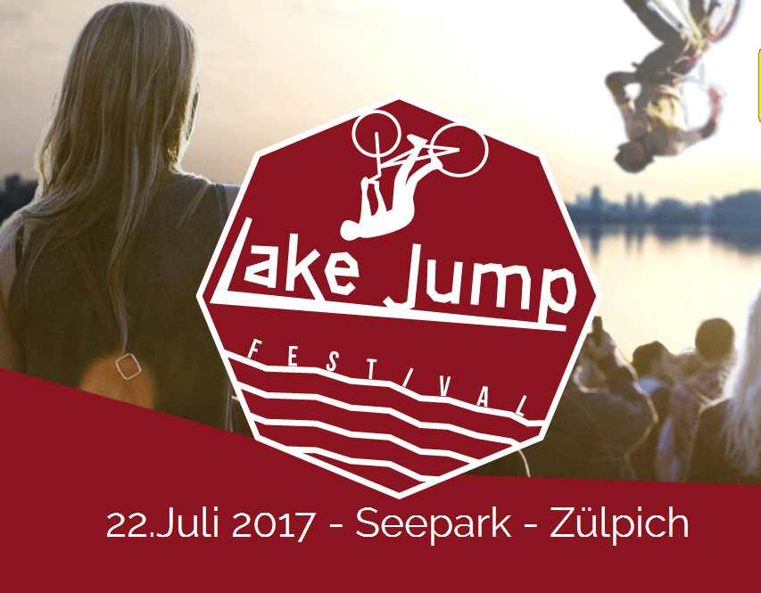 Save the Date! Lakejump- Festival – 22.Juli 2017 – Seepark, Zülpich