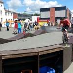 Mobiler Bikepark Pumptrack Biketrial Plauen Sachsen 04
