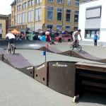 Mobiler Bikepark Pumptrack Biketrial Plauen Sachsen 05