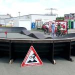 Mobiler Bikepark Pumptrack Biketrial Plauen Sachsen 07