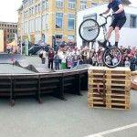 Mobiler Bikepark Pumptrack Biketrial Plauen Sachsen 16