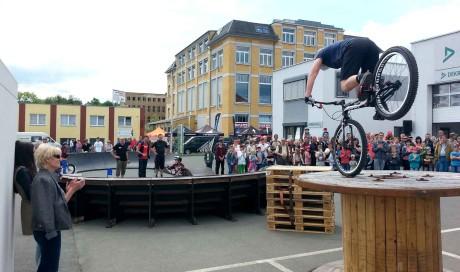 Mobiler Pumptrack | Bikepark Bikehouse Plauen, Sachsen