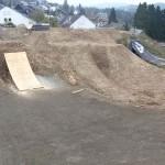 Slopestyle Dirtmasters Bikepark Winterberg Bau 08