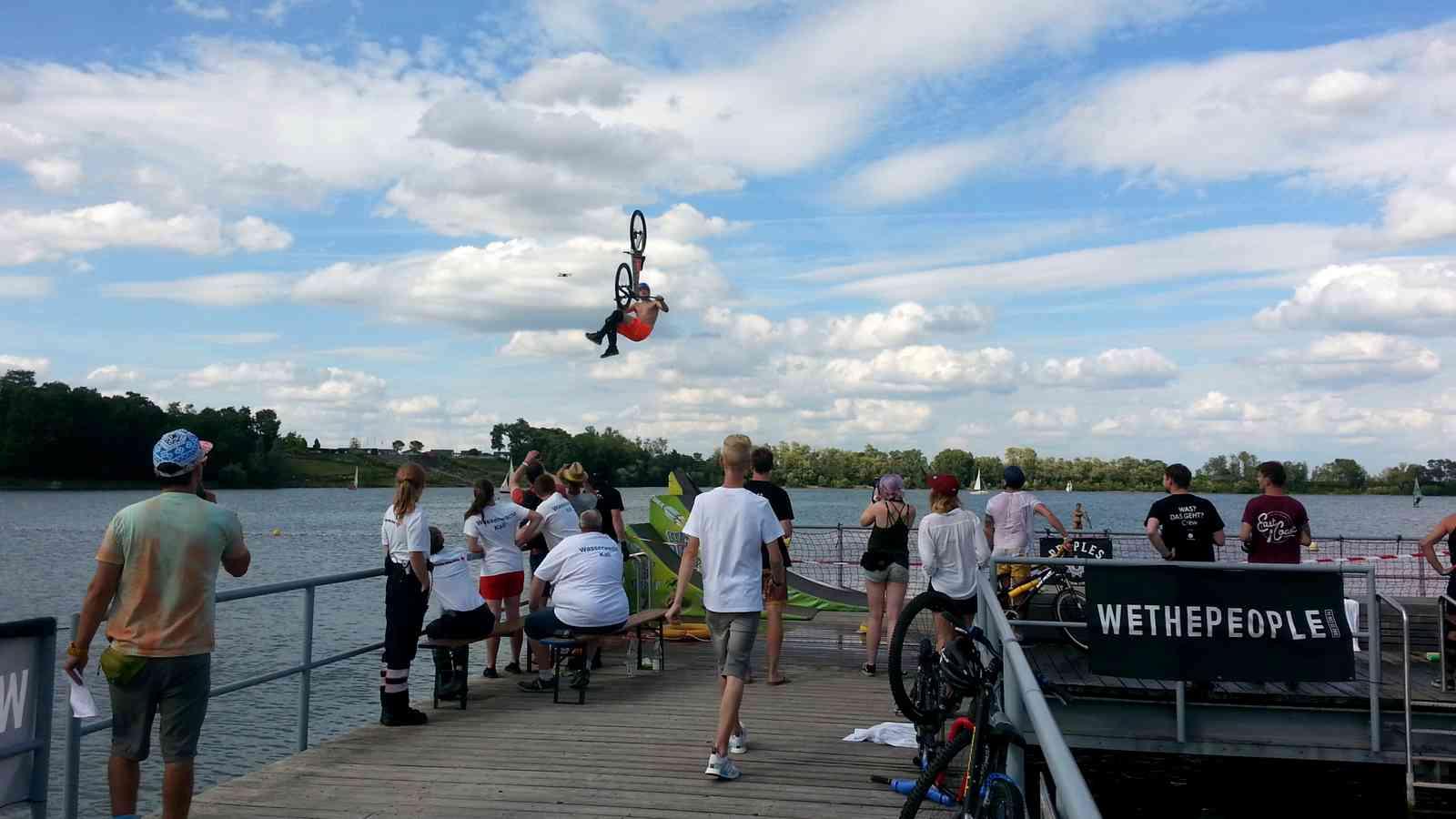 Turbomatik-Dirtkicker @ Lake Jump Festival mit Jannick Völk, Raffael Baltes, Marc Diekmann, Erik Fedko & Freunden