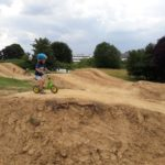 Kinder Laufrad Pumptrack Bikepark