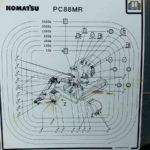 Schmierplan Wartungshandbuch Komatsu Pc88