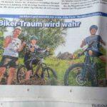 Turbomatik Bikeparks Presse Zeitung Altes Land