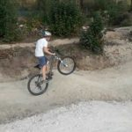 Dirtpark Ahaus Bikepark Pumptrack Bmx Manual Wheelie